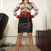Mistress Ella Kross Makes Her Slave Take a Strap-On!
