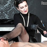 Mummification Sounds  -  Lady Victoria Valente / CBT / Spitting / Glove Fetish / Masturbation