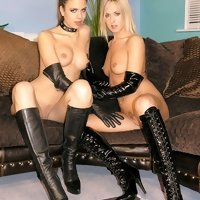 Leather Angel & Friends - Loving To Wear Leather For Sex