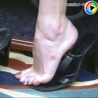 Her sweet sexy feet will make you fall on your knees